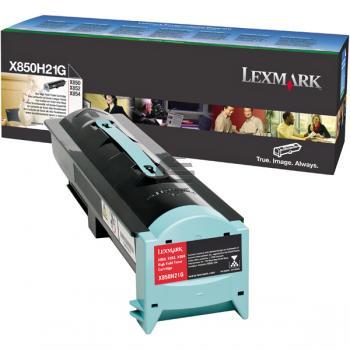 Lexmark Toner-Kartusche schwarz (X850H21G)