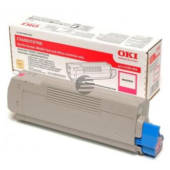 OKI Toner-Kit magenta (43381906)