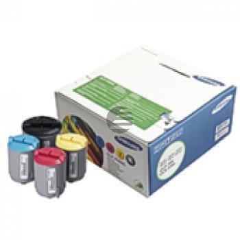 Samsung Toner-Kit gelb, cyan, magenta, schwarz (CLP-P300C, 300)