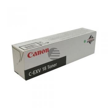 Canon Toner-Kit schwarz (0386B002, C-EXV18BK)