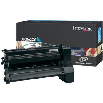 Lexmark Toner-Kartusche cyan (C780A2CG)
