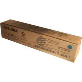 Toshiba Toner-Kit cyan (6AG00001524, TFC-35EC)