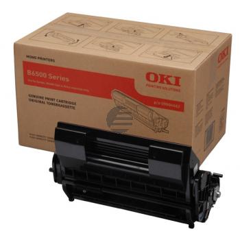 OKI Toner-Kartusche schwarz (09004461)
