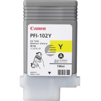 Canon Tintenpatrone gelb (0898B001, PFI-102Y)