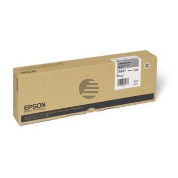 Epson Tintenpatrone schwarz light (C13T591700, T5917)
