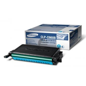 Samsung Toner-Kartusche cyan HC (CLP-C660B, 660)