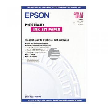 Epson Papier jet d'encre de qualité photo DIN A3 10 Feuilles blanc (C13S041069)