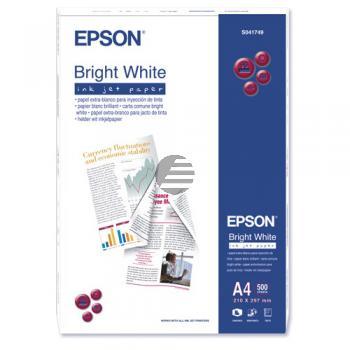 Epson Bright White Ink-Jet Paper DIN A4 500 Seiten weiß 500 Blatt DIN A4 (C13S041749)