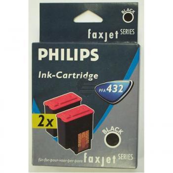 Philips Tintenpatrone 2 x schwarz (906115308029)