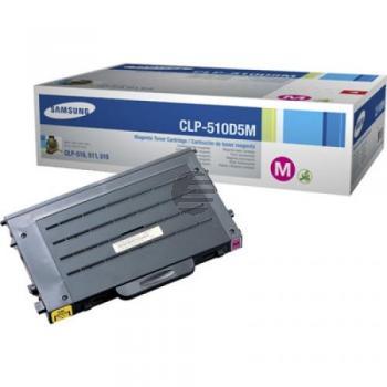Samsung Toner-Kartusche magenta HC (CLP-510D5M, 510)