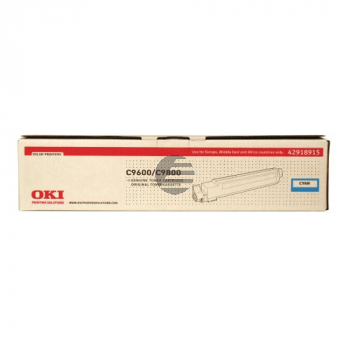 OKI Toner-Kit cyan HC (42918915)