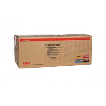 OKI Toner-Kit gelb, cyan, magenta, schwarz HC (43112702)