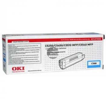 OKI Toner-Kit cyan HC (42127456)