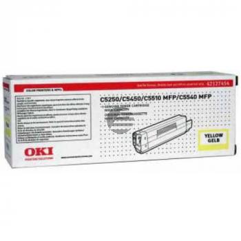 OKI Toner-Kit gelb HC (42127454)