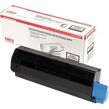 OKI Toner-Kit schwarz HC (42127457)