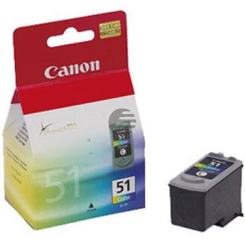 Canon Tintendruckkopf cyan/gelb/magenta HC (0618B001, CL-51)