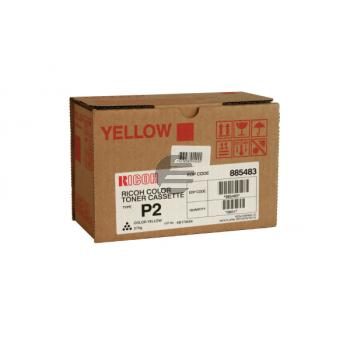 Ricoh Toner-Kit gelb HC (885483, TYPE-P2Y)