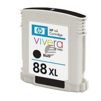 HP Tintenpatrone schwarz HC (C9396AE, 88XL)