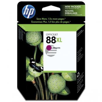 HP Tintenpatrone magenta HC (C9392AE, 88XL)