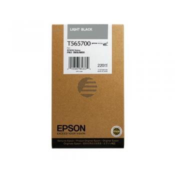 Epson Tintenpatrone schwarz light HC (C13T565700, T5657)
