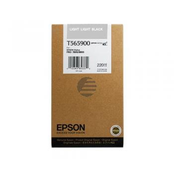 Epson Tintenpatrone schwarz light, light HC (C13T565900, T5659)