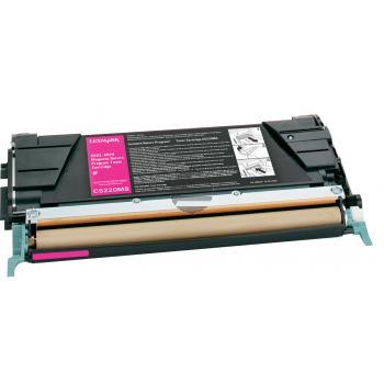 Lexmark Toner-Kartusche Prebate magenta (C5220MS)