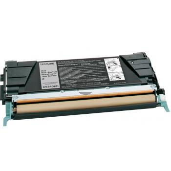 Lexmark Toner-Kartusche Prebate schwarz HC (C5240KH)