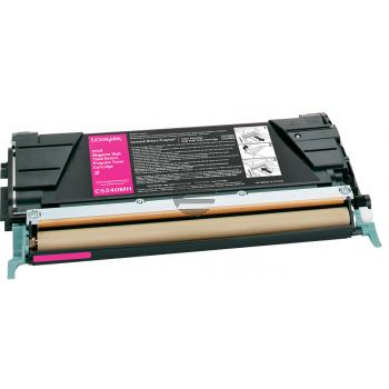 Lexmark Toner-Kartusche Prebate magenta HC (C5240MH)