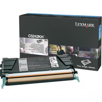 Lexmark Toner-Kartusche schwarz HC (C5242KH)
