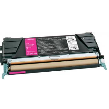 Lexmark Toner-Kartusche magenta HC (C5242MH)