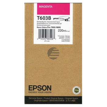 Epson Tintenpatrone magenta HC (C13T603B00, T603B)