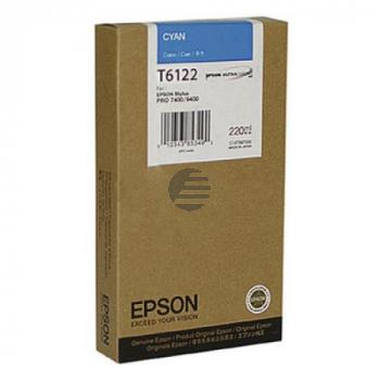 Epson Tintenpatrone cyan HC (C13T612200, T6122)