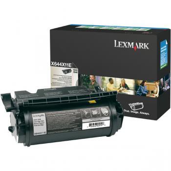 Lexmark Toner-Kartusche Prebate schwarz HC plus (X644X11E)