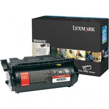 Lexmark Toner-Kartusche schwarz HC plus (X644X21E)