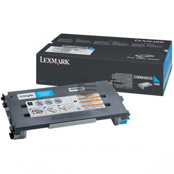 Lexmark Toner-Kartusche cyan HC (C500H2CG)