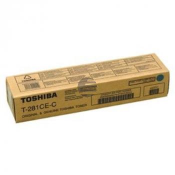 Toshiba Toner-Kit cyan (6AK00000046, T-281CEC)