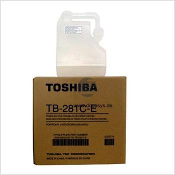 Toshiba Tonerrestbehälter (6AR00000230, TB-281CE)