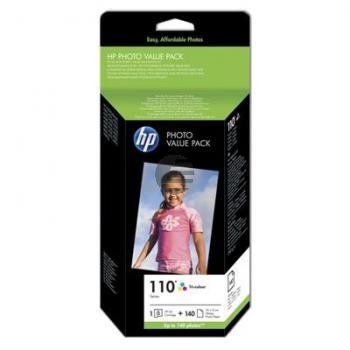 HP Tintendruckkopf + Papier 3-farbig (Q8898AE, 110)