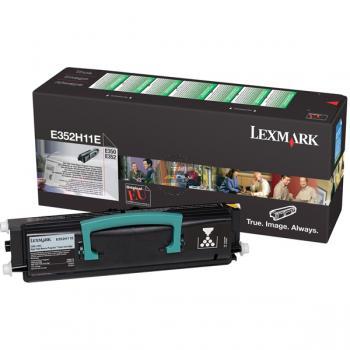Lexmark Toner-Kartusche Prebate schwarz HC (E352H11E)