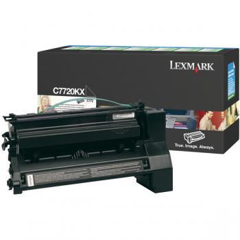 Lexmark Toner-Kartusche Prebate schwarz HC plus (C7720KX)
