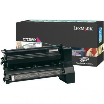 Lexmark Toner-Kartusche Prebate magenta HC plus (C7720MX)