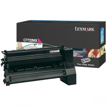 Lexmark Toner-Kartusche magenta HC plus (C7722MX)