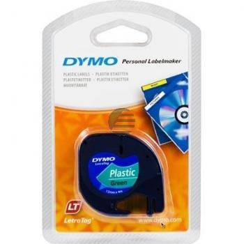 Dymo Schriftbandkassette schwarz/grün (91224)