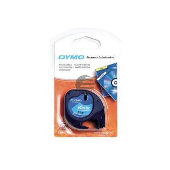 Dymo Schriftbandkassette schwarz/blau (91225)