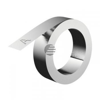 Dymo Aluminiumband ohne Kleber 12,0mm (31000)