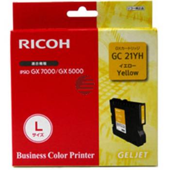 Ricoh Gel-Kartusche gelb HC (405539, GC21YH)