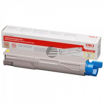 OKI Toner-Kit gelb HC (43459321)