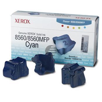 Xerox Colorstix 3 x cyan (108R00723)