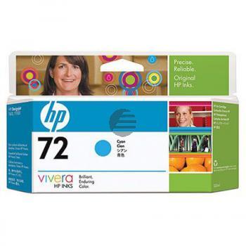 HP Tintenpatrone cyan HC (C9371A, 72)