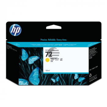 HP Tintenpatrone gelb HC (C9373A, 72)